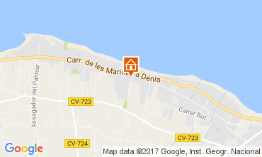 Mappa Dénia Appartamento 111027