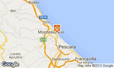 Mappa Montesilvano Marina Appartamento 75393