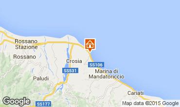 Mappa Mirto Crosia Appartamento 43185