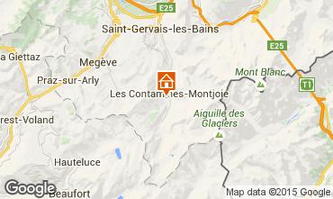 Mappa Les Contamines Montjoie Chalet 50772