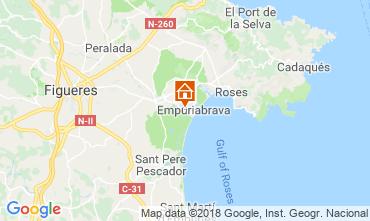 Mappa Empuriabrava Villa  116120