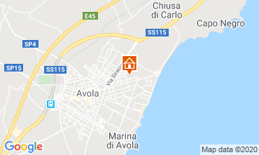 Mappa Avola Monolocale 45891