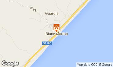 Mappa Riace Marina Appartamento 43582