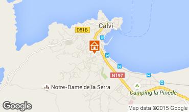 Mappa Calvi Monolocale 97761
