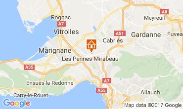 Mappa Aix en Provence Appartamento 107983