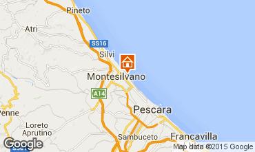 Mappa Montesilvano Marina Appartamento 32579