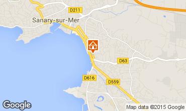 Mappa Sanary Appartamento 5865