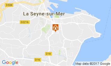 Mappa La Seyne sur Mer Appartamento 108145