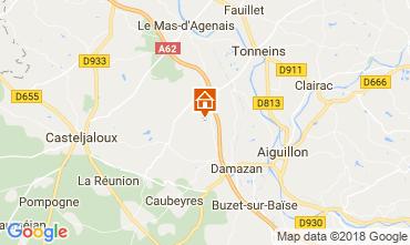 Mappa Casteljaloux Agriturismo 113847