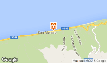 Mappa San Menaio Appartamento 35090