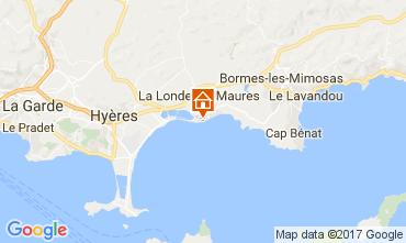 Mappa La Londe les Maures Appartamento 110348