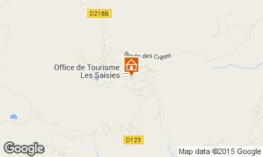 Mappa Les Saisies Monolocale 73974