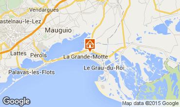 Mappa La Grande Motte Appartamento 36200