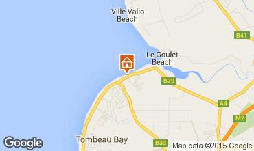 Mappa Baie du tombeau Villa  86489