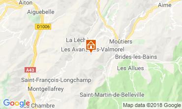Mappa Valmorel Appartamento 117342