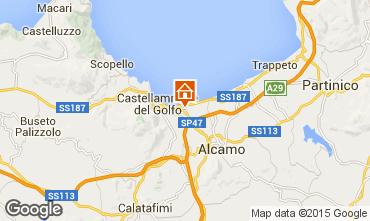 Mappa Castellammare del Golfo Villa  32448