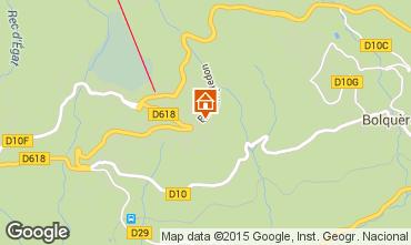 Mappa Font Romeu Appartamento 4135