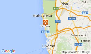 Mappa Tirrenia Appartamento 76318