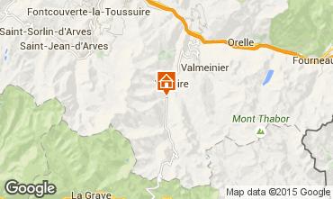 Mappa Valloire Appartamento 3417