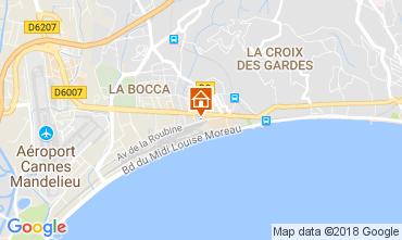 Mappa Cannes Appartamento 95292