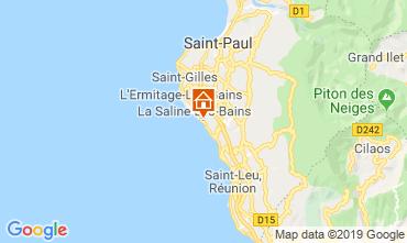 Mappa La Saline les Bains Appartamento 119424
