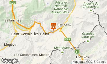 Mappa Chamonix Mont-Blanc (Monte Bianco) Appartamento 89182