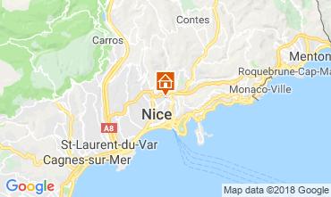 Mappa Nizza Appartamento 116620