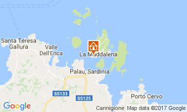 Mappa La Maddalena Appartamento 53473