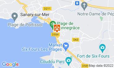 Mappa Sanary Appartamento 92625