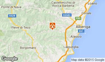Mappa Alassio Agriturismo 70169