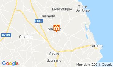 Mappa Martano Casa 116344