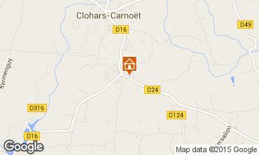 Mappa Clohars Carnoet Casa 94820