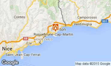 Mappa Roquebrune Cap Martin Appartamento 56046