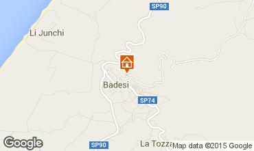 Mappa Badesi Appartamento 92351
