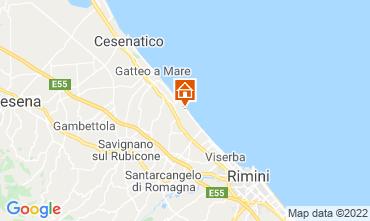 Mappa Bellaria Igea Marina Appartamento 86732
