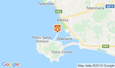 Mappa Monte Argentario Appartamento 118595