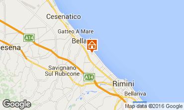 Mappa Bellaria Igea Marina Monolocale 103013