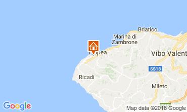 Mappa Tropea Appartamento 113063