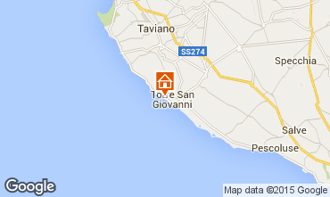 Mappa Ugento - Torre San Giovanni Appartamento 77791
