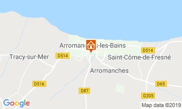 Mappa Arromanches Agriturismo 90681
