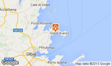 Mappa Golfo Aranci Appartamento 74665