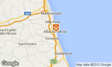 Mappa Alba Adriatica Appartamento 88815