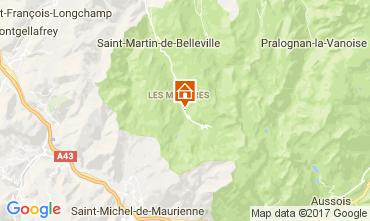 Mappa Les Menuires Appartamento 1606
