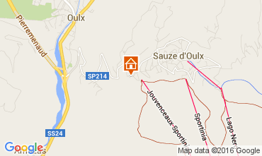 Mappa Sauze d'Oulx Appartamento 79781
