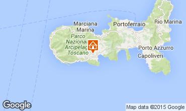 Mappa Campo nell'Elba Villa  94186