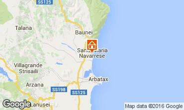 Mappa Santa Maria Navarrese Appartamento 40493