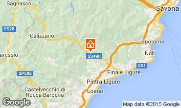 Mappa Pietra Ligure Appartamento 95621