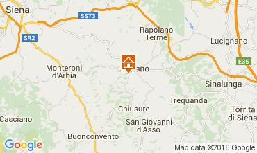 Mappa Siena Appartamento 71873