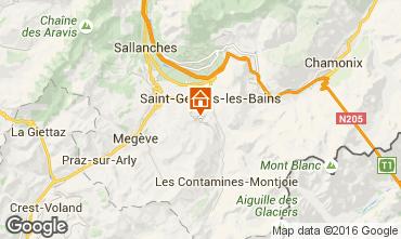 Mappa Saint Gervais Mont-Blanc Chalet 80692