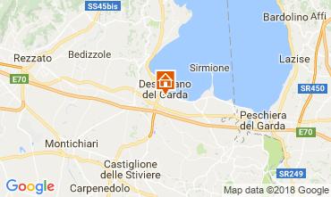 Mappa Desenzano del Garda Appartamento 115248